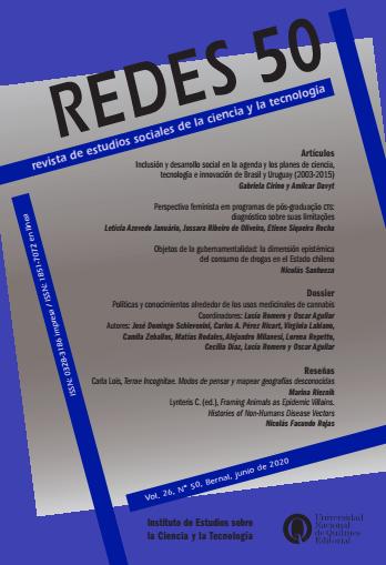Ver Vol. 26 Núm. 50 (2020): REDES N° 50