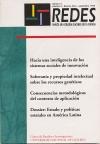 Ver Vol. 2 Núm. 4 (1995): Redes N° 4